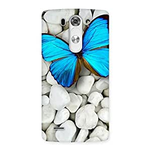Impressive Awesome ButterFly Multicolor Back Case Cover for LG G3 Mini
