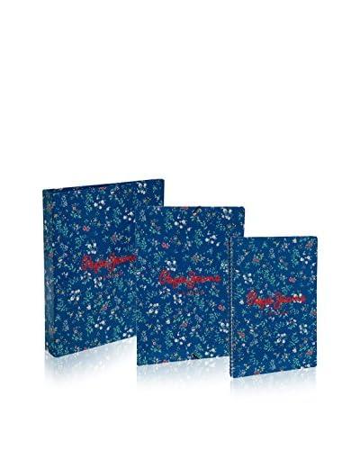 Pepe Jeans Cuaderno + 2 X Carpeta