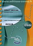 Droit social - Énoncé. Unité d'enseignment 3 du DCG. Cas pratiques.