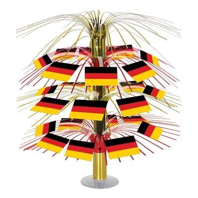 German Flag Cascade Centerpiece Party Accessory (1 count) (1/Pkg)