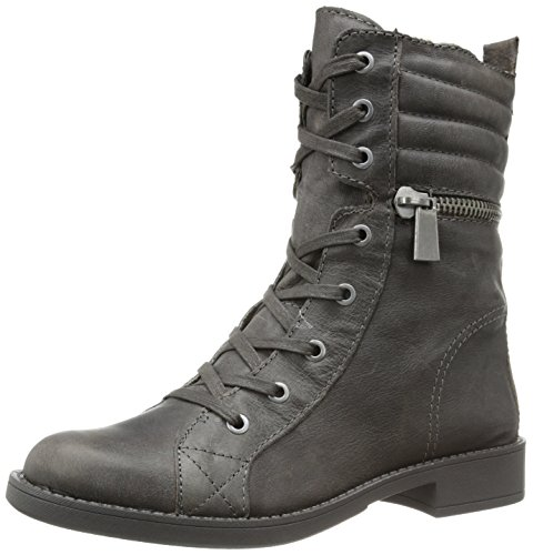 Nine West Women'S Ferocity Motorcycle Boot,Grey,7.5 M Us