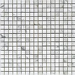 Carrara Square 58x58 Mosaic Honed