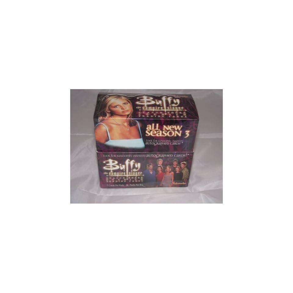 Buffy The Vampire Slayer Season 3 Factory Sealed Trading Card Hobby Box 36 Packs Toys & Games