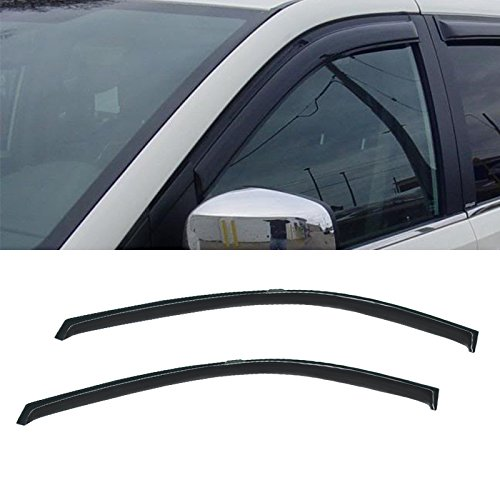 vioji-2pcs-front-door-dark-smoke-outside-mount-style-sun-rain-guard-vent-shade-window-visors-fit-dod