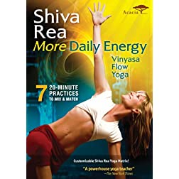 More Daily Energy: Vinyasa Flow Yoga
