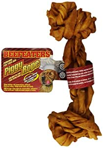 Beefeaters Piggy Rope Bone, 7-Inch