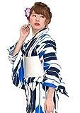 20タイプから浴衣が選べる2016浴衣福袋 浴衣セット [浴衣+半幅帯+下駄] 3点セット レディース