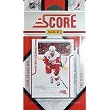 2011 / 2012 Score Detroit Red Wings Factory Sealed 15 Card Team Set Including Pavel Datsyuk, Henrik Zetterberg, Johan Franzen, Nicklas Lidstrom, Niklas Kronwall, Jimmy Howard, Jiri Hudler, Todd Bertuzzi and More!