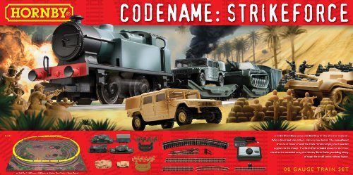 Hornby R1147 Codename: Strike Force OO Gauge Electric Train Set