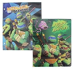 Teenage Mutant Ninja Turtles Folders - 2 Pack