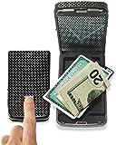 iWallet SCSCF Slim Carbon Fiber Safeguard Cash Cards and Valuables