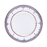 Padma Collection Minakari Plum and Berry Dinner Plate,10 1/2-Inch, Set of 4