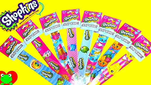 Shopkins Slap Band! Bracelet (Style May Vary) . Pack of 1.