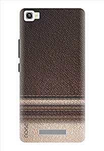 Designer Printed Mobile Back Cover & Case For Lava Iris X8 / By Noise (GD-53)