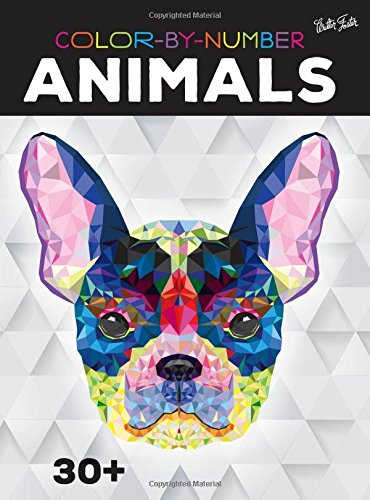 Color-by-Number: Animals: 30+ fun & relaxing color-by-number projects to engage & entertain (Paint By Numbers Book compare prices)