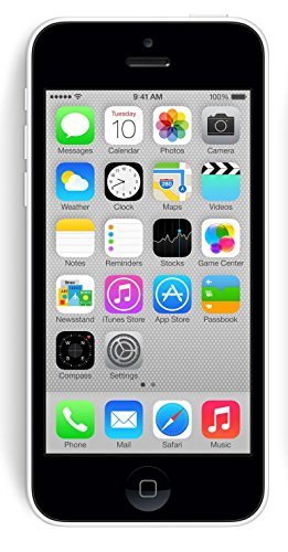 Apple iPhone 5C White 8GB Unlocked GSM Smartphone (Certified Refurbished)