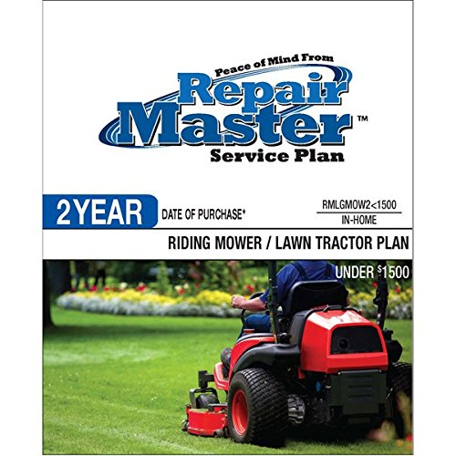 Repair Master 2-Yr Date Of Purchase Riding Mower/Tractor - Under $1500