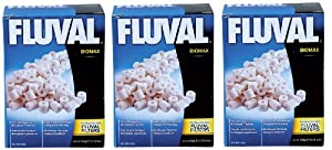 Fluval Biomax Bio Rings - 500 grams/17.63 ounces (3-Pack)