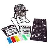 CE - Bingotrommel Lottotrommel Bingo Spiel mit Lotto und vielem Zubehör