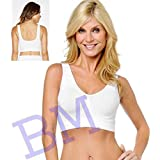 BM Exclusive NEW Innerwear Air Sports Bra No Straps No Clips,Comfortable Seamless Slim Comfort Feeting No Straps No Clips,Comfortable Seamless Slim Comfort Feeting