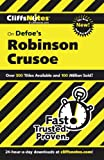 img - for CliffsNotes on Defoe's Robinson Crusoe, 2nd Edition (Cliffsnotes Literature Guides) book / textbook / text book
