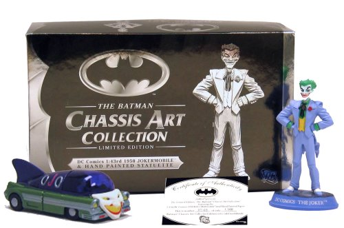 Buy Batman Chassis Art Collection 1950 Jokermobile Figure