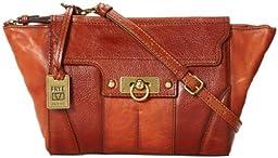 FRYE Dana Clutch Handbag,Spice,One Size