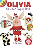 img - for Olivia Sticker Paper Doll (Dover Little Activity Books Stickers) book / textbook / text book