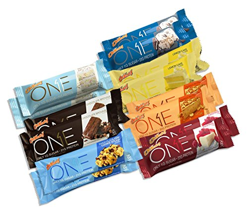 ONE Bar 14 Bar Variety Pack (Two of Every Flavor) (Quest Bar One compare prices)