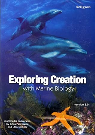 Exploring Creation with Marine Biology Complete Cd-rom Version