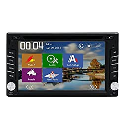 See 6.2 Inch In Dash Car GPS Navigation With DVD CD Player 2 Din Car Video Players Radio Stereo Audio Bluetooth BT/SD/USB Headunit Details