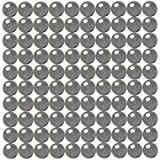 100 1/8 inch Diameter Chrome Steel Bearing Balls G25 Ball Bearings VXB Brand
