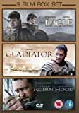 3 Film Box Set: The Eagle / Gladiator / Robin Hood [DVD]