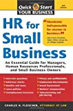 img - for HR for Small Business, 2E: An Essential Guide for Managers, Human Resources Professionals, and Small Business Owners (Quick Start Your Business) book / textbook / text book