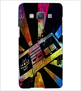 PrintDhaba Abstract Image D-4351 Back Case Cover for SAMSUNG GALAXY E5 (Multi-Coloured)