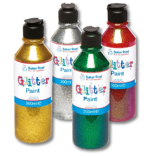 green-glitter-paint-perfect-for-decorating-and-embellishing-christmas-arts-and-crafts-each-300ml