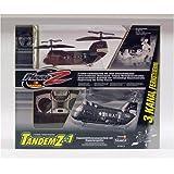 Silverlit - 87411 - V�hicule Radio command� - H�licoptere - Tandem-Z SWAT (3 canaux)par SilverLit