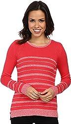 Calvin Klein Women's Marled Stripe Sweater