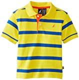 Nautica Baby-Boys Infant Short Sleeve Contrast Stripe Polo
