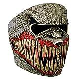 Lmeno Schädel Skelett Gesichtsmaske Ghost Style Balaclava Schädel Skelett Maske