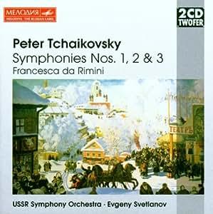 Symphonies N 1 2 & 3 &  Francesca da Rimini Symphonic Fantasia After Dante