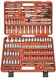 Famex Mechaniker Steckschlüsselsatz 526-SD-20 mit Feinzahnknarren