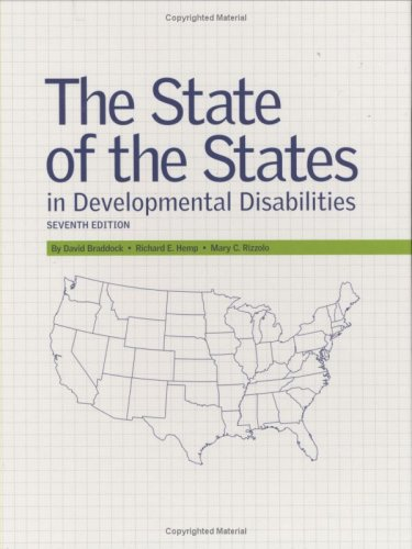State of the States in Developmental Disabilities