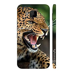 Enthopia Designer Hardshell Case Ferociouscity and Speed Back Cover for HTC One M9