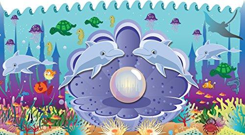 Mona Melisa Designs Baby Crib Mural, Ocean Pearl