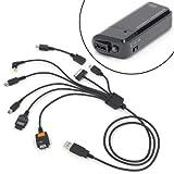 【amazon限定】 7in1スーパーマルチUSBケーブル+Micro USB 電池BOXセット RCG-U7SPB+MBOX