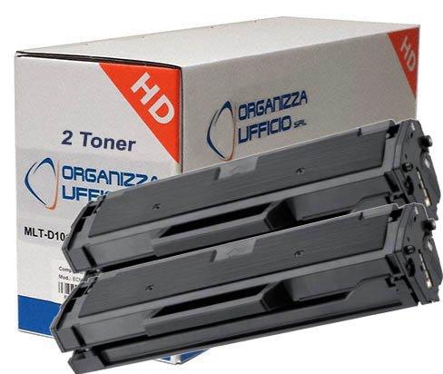 2pz x Toner Compatibile Nero Per Samsung 101S,[ MLT-D101S ], ML2160, 2165W,2165,SCX 3400,3400F 3405,3405F,3405FW,SF760, Stampa Fino a 1.500pagine