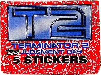 1991 - Topps - Carolco - T2 - Terminator 2 : Judgment Day - Stickers Pack - RARE - Vintage - Limited Edition - Collectible - 1