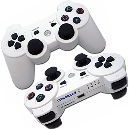 PS3 WIRELESS RUMBLE PLAYSTATION 3 BLUETOOTH CONTROLLER