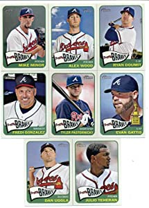 2014 Topps Heritage Baseball Cards Atlanta Braves 15 Card Team Set (In 4 Pocket...